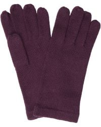 John Lewis - Plain Knit Gloves - Lyst