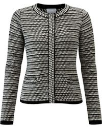 John Lewis - Pure Collection Textured Knitted Jacket - Lyst
