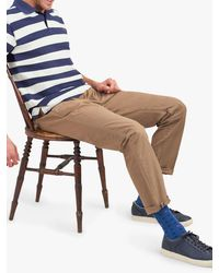 Joules Filbert Striped Polo Shirt - Blue