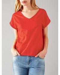 Harris Wilson Embleme T-shirt - Red