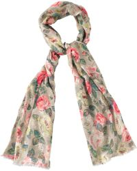 Cath Kidston - Forest Rose Scarf - Lyst
