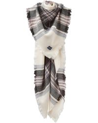 Joules - Heyford Check Square Scarf - Lyst