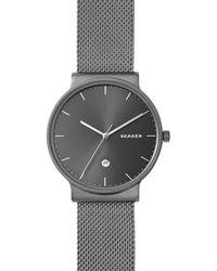 Skagen - Men's Grey Bracelet Watch - Lyst