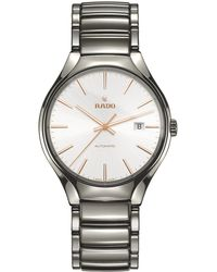Rado - R27057112 Unisex True Automatic Ceramic Bracelet Strap Watch - Lyst