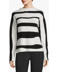 Betty & Co. Striped Jumper - Black