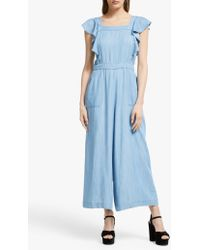 Somerset by Alice Temperley - Chambray Jumpsuit - Lyst