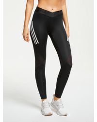 best cheap 4ae05 042fc adidas - Alphaskin Sport 3-stripes Long Training Tights - Lyst