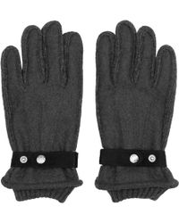 Reiss - Sailsbury Tonal Contrast Gloves - Lyst