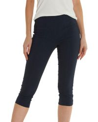Betty Barclay - Pull On Cropped Trousers - Lyst