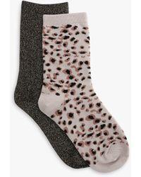 Tutti & Co Jasper Bamboo Cotton Blend Socks - Multicolour