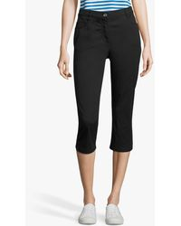 Betty Barclay - Stretch Cotton Cropped Jeans - Lyst