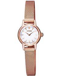 Citizen - Eg2992-51a Women's Petite Elegance Bracelet Strap Watch - Lyst