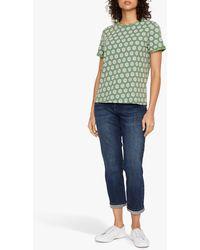 White Stuff Neo Jersey T-shirt - Green