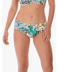 Fantasie Playa Blanca Classic Twist Swimsuit Bottom - Multicolour