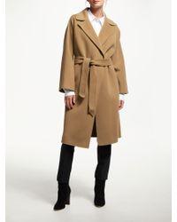 3e84f0a6a5 Weekend by Maxmara - Burgos Wool Belted Coat - Lyst