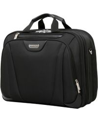 "Wenger - 17"" Laptop Triple Briefcase - Lyst"