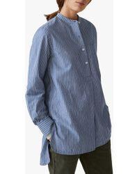Toast - Fine Strip Long Shirt - Lyst