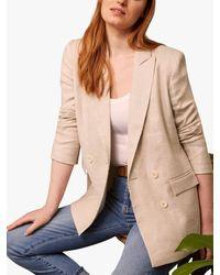 Baukjen Lennox Linen Blend Jacket - Natural