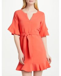 Suncoo - Candice Flounce Dress - Lyst