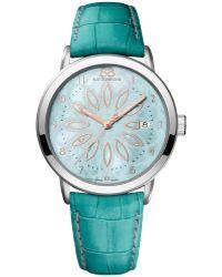 88 Rue Du Rhone - 87wa140015 Women's Double 8 Origin Mother Of Pearl Alligator Leather Strap Watch - Lyst