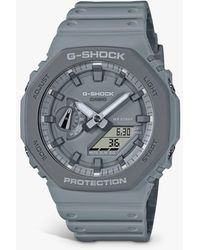 G-Shock G-shock Carbon Core Resin Strap Watch - Grey