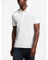 J.Lindeberg - Troy Clean Pique Slim Fit Polo Shirt - Lyst