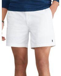 Ralph Lauren - Polo Prepster Flat Shorts - Lyst