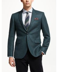 John Lewis - Textured Wool Tailored Blazer - Lyst