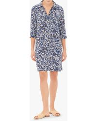 Gerard Darel - Gilles Abstract Print Shirt Dress - Lyst