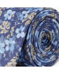 John Lewis - Woven In Italy Floral Linen Tie - Lyst