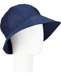 John Lewis - Waxed Trench Hat - Lyst