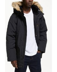 Carhartt WIP Anchor Parka Coat - Black