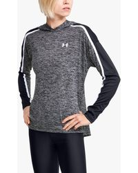 Under Armour Techtm Twist Graphic Training Hoodie - Grey