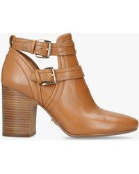 7cf16d91195a Michael Kors - Michael Blaze Cut Out Ankle Boots - Lyst