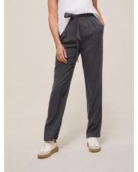 Modern Rarity Paperbag Trousers - Grey