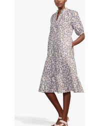 Baukjen Ivy Organic Cotton Midi Dress - White