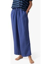 Toast - Garment Dyed Linen Japanese Trousers - Lyst