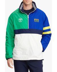 284d55186 Polo Wimbledon Pullover Jacket - Blue