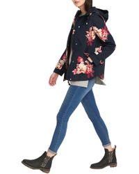 Joules - Coast Printed Coast Womens Coat (z) - Lyst