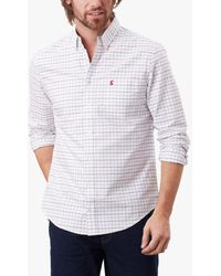 Joules Welford Check Shirt - Blue