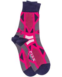 Thomas Pink - Cooper Abstract Pattern Socks - Lyst