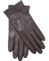 John Lewis - Leather Fleece Lined Gloves - Lyst