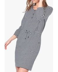 Barbour Mersey Stripe Dress - Blue