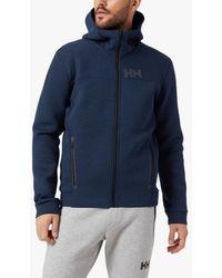 Helly Hansen Hp Ocean Full Zip Hoodie - Blue