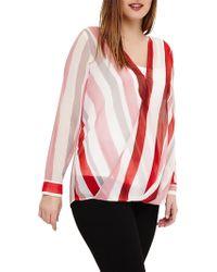 Studio 8 - Effie Striped Top - Lyst