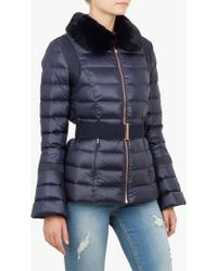 Ted Baker - Quilted Down Jacket - Lyst