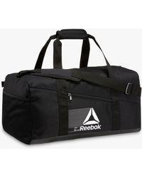 Reebok Active Foundation Grip Duffle Bag - Black