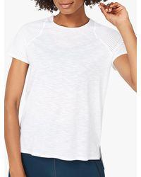 Sweaty Betty Breeze Running T-shirt - White