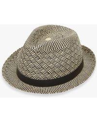 2f5503c4d Charlie Parquet Panama Hat