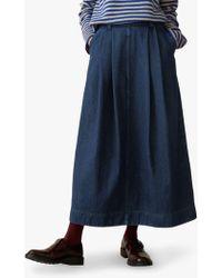 Toast Denim Skirt - Blue